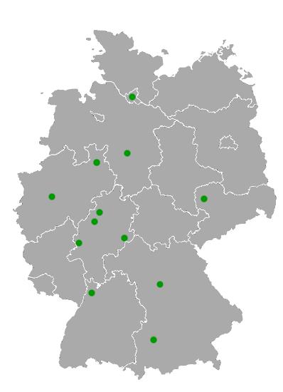Altkleidersammlung in Deutschland