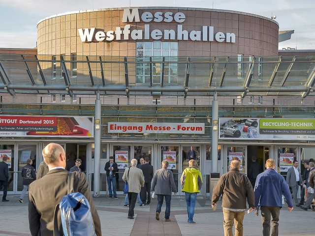 Vierte Recycling-Technik Messe im Mai in Dortmund